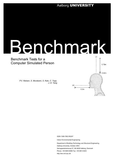 Benchmark Tests for Computer Simulated Persons