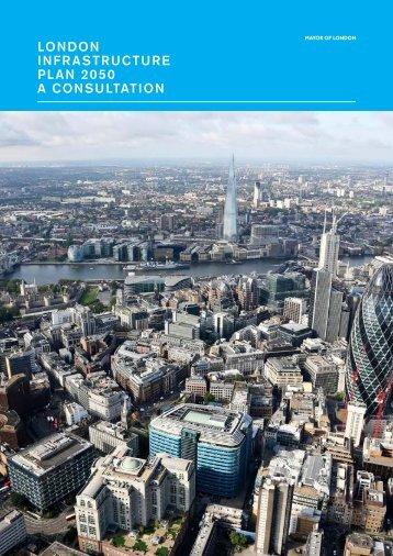 London Infrastructure Plan 2050 – consultation document
