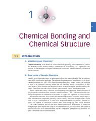 Chemical Bonding and Chemical Structure - Roberts and Company ...