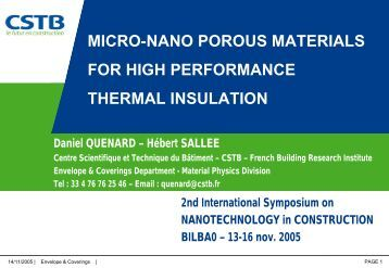 micro-nano porous materials for high performance thermal insulation