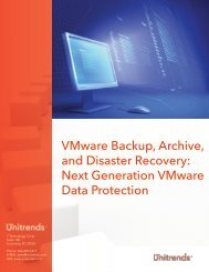 VMware Backup, Archive, and Disaster Recovery - Starnet Data ...