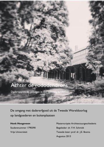 Masterscriptie-Henk-Hoogeveen-augustus-2013