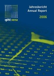 IPHT Jena - Jahresbericht 2006