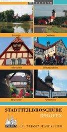 Informationen über den Stadtteil Hellmitzheim - Iphofen