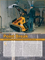 Demolition - Boxer Power and Equipment