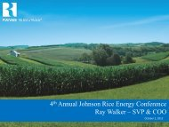 4th Annual Johnson Rice Energy Conference ... - Range Resources