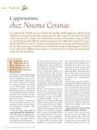 chez Nosema Ceranae - Apiservices
