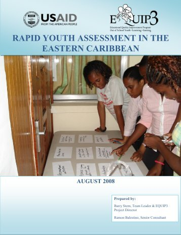 East Caribbean Youth Assessment Final Report - EQUIP123.net