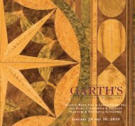 january 29 and 30, 2010 - Garth's Auctions, Inc.