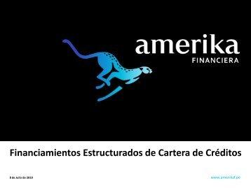 Financiamientos Estructurados de Cartera de Créditos - La Fiduciaria