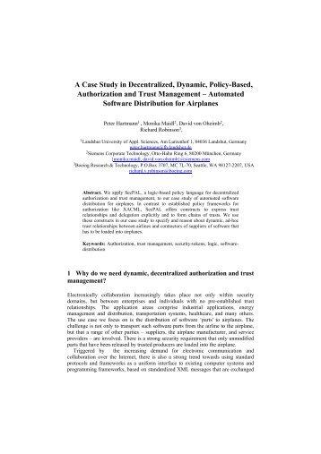 apogee decentralisation a case study