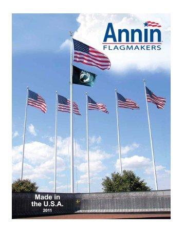 Annin Flagmakers - American Vet. Flagpole & Flag Company
