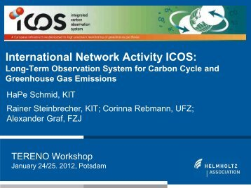 International Network Activities