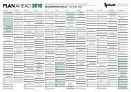 PLAN AHEAD 2010 - Headmasters
