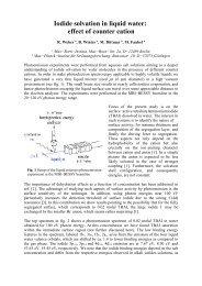 2000 - Mitarbeiter-Homepages des MBI: Max-Born-Institut für ...