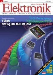 APIX moves into the fast lane - Inova Semiconductors