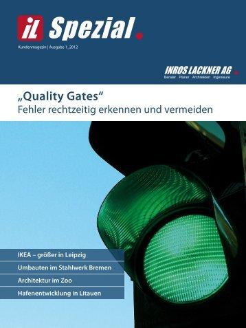 Quality Gates - Inros Lackner AG