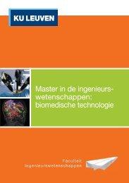 biomedische technologie - KU Leuven