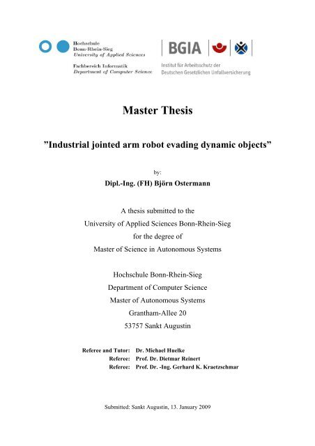 Master Thesis - Hochschule Bonn-Rhein-Sieg