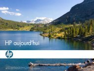 Histoire HP - Hewlett-Packard France - HP