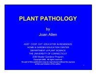 PLANT PATHOLOGY - Cooperative Extension System - University of ...