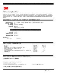 Material Safety Data Sheet SECTION 1: PRODUCT AND COMPANY ...