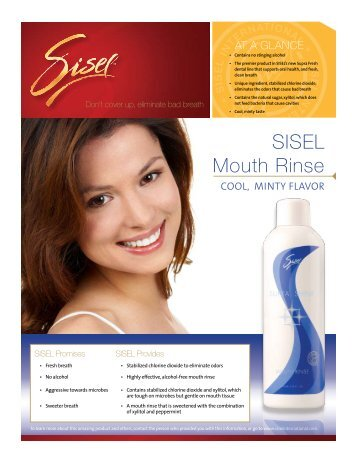 SISEL Mouth Rinse