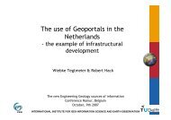 The use of Geoportals in the Netherlands - sbgimr
