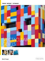 sPeCTACULAIre GeVeLs - Trespa