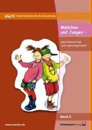 Mädchen und Jungen – - Jugend und Bildung