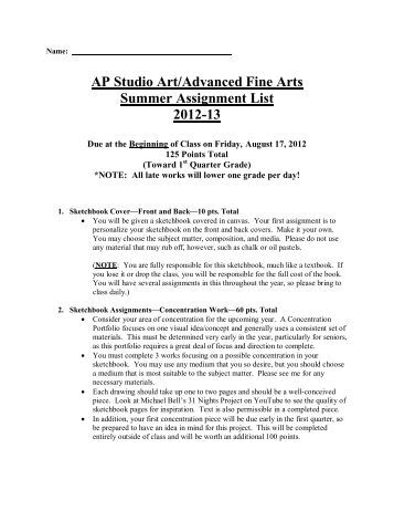 I need help with an ap english summer assignment?