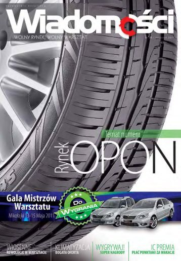 WiadomoÅ›ci 38/2011 - Inter Cars SA