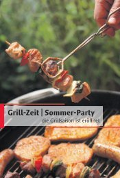 Grill-Zeit | Sommer-Party - Wochen-Post