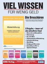FÜR WENIG GELD - Deutscher Mieterbund