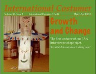 March-April 2013 - International Costumers' Guild, Inc.
