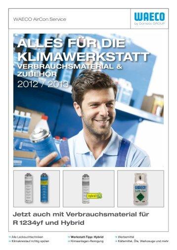 Waeco Klima Werkstattausrüstung Online-Katalog - Rösner KFZ ...