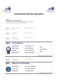 2012 Future plans 30 10 12 - Sail Training International