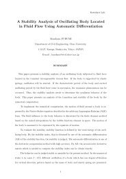 A Stability Analysis of Oscillating Body Located in Fluid Flow Using ...