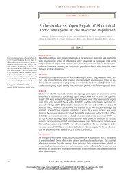 Endovascular vs. Open Repair of Abdominal Aortic Aneurysms in ...