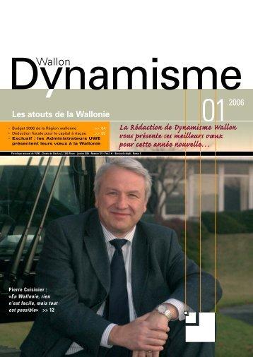 Les atouts de la Wallonie - Union Wallonne des Entreprises
