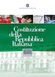 Costituzione della Repubblica Italiana - Comites Ginevra - Comites ...
