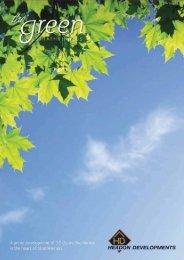 The Green - Strathkinness Property Brochure...site ... - Pagan Osborne