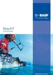 RheoFIT brochure - Basf