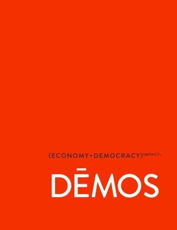 (economy+Democracy)impact= - Demos