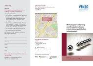 Wirkungsorientierung und Evaluation in der entwicklungs ... - Venro