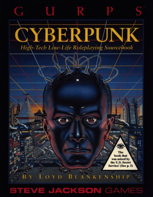 GURPS - Cyberpunk
