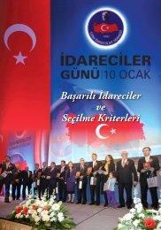 Başarılı İdareciler ve Seçilme Kriterleri - Türk İdareciler Derneği