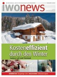 durch den Winter - IWO Österreich