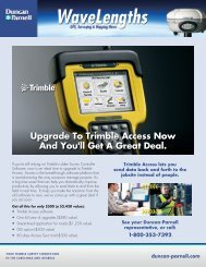 Upgrade To Trimble Access Now And You'll Get A ... - Duncan Parnell