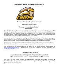 Coquitlam Minor Hockey Association